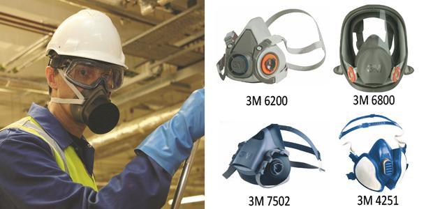 58238-Gas Masks - Honeywell N5400 Double Filter Gas Mask-Egebant Zimpara ve Polisaj Malzemeleri San. ve Tic. A.S.