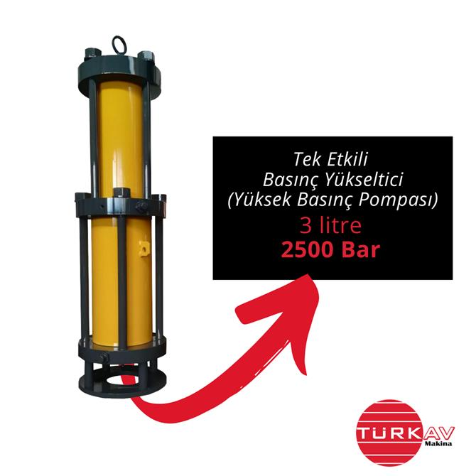 228697-Pressure Intensifier (High Pressure Pump)-Turkav Arastirma Gelistirme Muhendislik Makina Egitim Danismanlik Tic. Ltd. Sti.
