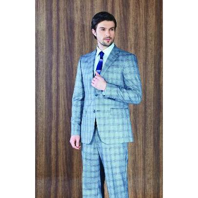 d86bd730d782c ... Men's Clothing · Men's suits · 4852-Classic gray suit-Konak Tekstil