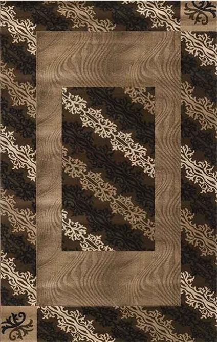 198985-Sparkle Rosalinda Series Brown Carpet-Ugur Demir Hali San. Tic. Ltd. Sti.