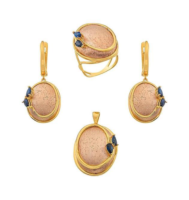 216165-18K Gold Mini Set-Rinel Import-Export Co