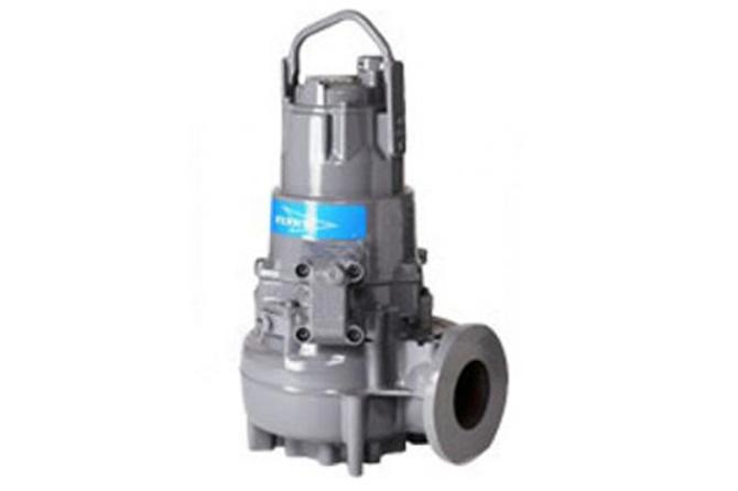 Rental sludge pump, Flygt, 14 5 kW, 6