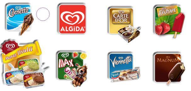 Dondurma çeşitlerialgida ürününü Globalpiyasacom Da Satın Alın
