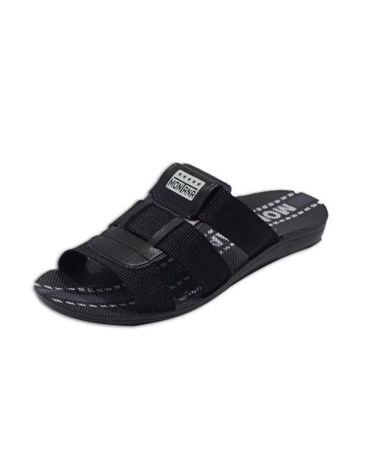 200068- Black Men Slippers-Güzel Poli San. Ve Tic. Ltd. Şti.