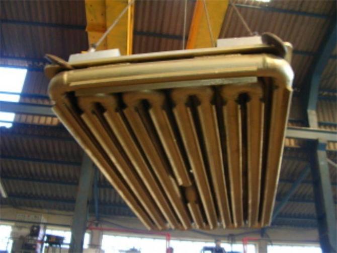 211869-Arc Furnace Copper Panel-EGS Celik San. Ltd. Skti.