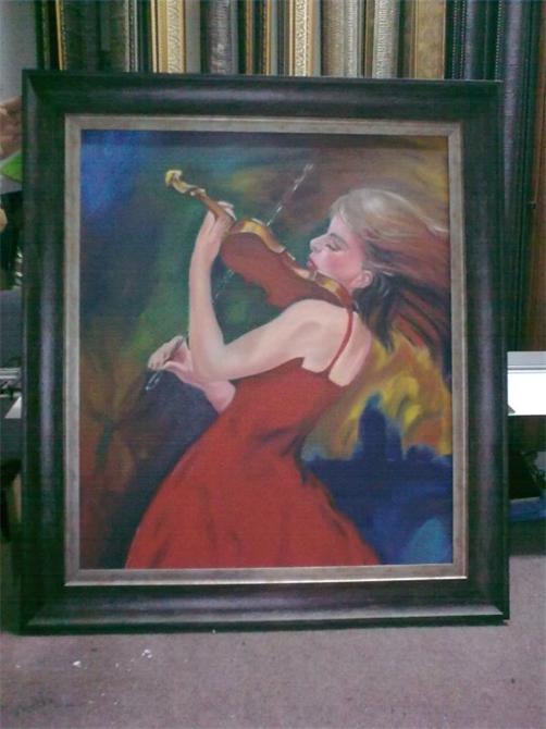 35660-Decorative oil painting-Santral Cam Dograma Insaat Turizm Ticaret Ltd. Sti.