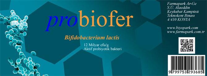 205547-Probiotic food supplement-Farmapark Arge Biyoteknoloji Makine Kimya Gida San. Ve Tic. Ltd. Sti.