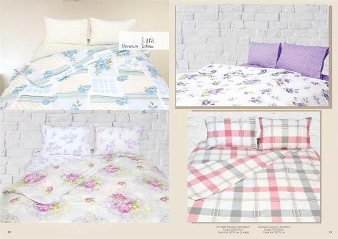 218488-Ranforce Double Color Quality Duvet Cover Set-Evinesa Ev Tekstil ve Gerecleri Insaat Taahhut Yapi Malzemeleri San. ve Tic. Ltd Sti.
