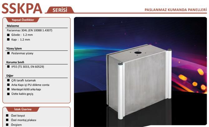 213582-Stainless Steel Enclosures-Genesis Genel Elektrik Elektronik Sis. San. ve Tic. Ltd. Sti.