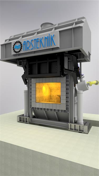 240392-Alüminyum Biyet / Billet Fırınları-Arsteknik Endüstriyel Mühendislik A.Ş.