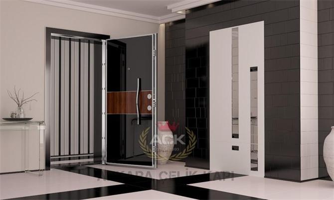 184680-KROMA 602 Steel Door-Ankara Celik Kapi