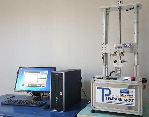 219295-Çekme Test Cihazı - 01kN -Tekpark Arge Mühendislik Test Eğitim Danışmanlık Bilişim Makina San. ve Tic. Ltd. Şt.