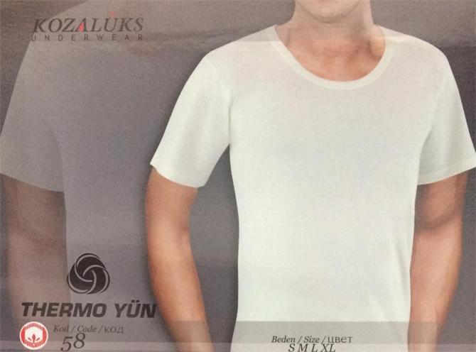 215435-Crew Neck Undershirt-Kozaluks Tekstil San. ve Tic. Ltd. Sti.
