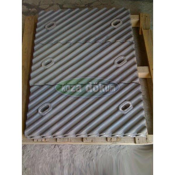 216594-Alloy Steel Material Plate-Koza Dokum Makine Elektrik San. Tic. Ltd. Sti.