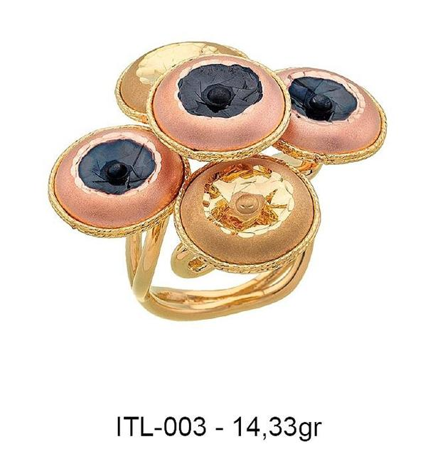 216127-14K gold ring-Rinel Import-Export Co