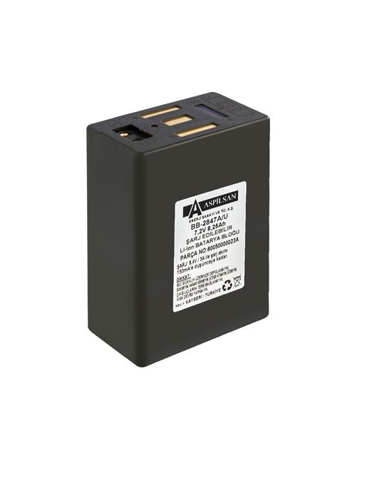 216796-BB-2847 (6.4Ah) Transceiver-Aspilsan Energy Industry and Trade Inc.