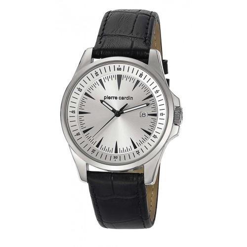 10414-Pierre Cardin Siyah Kayışlı Saat-Aşcı Saatçilik Tic. ve San. Ltd. Şti.