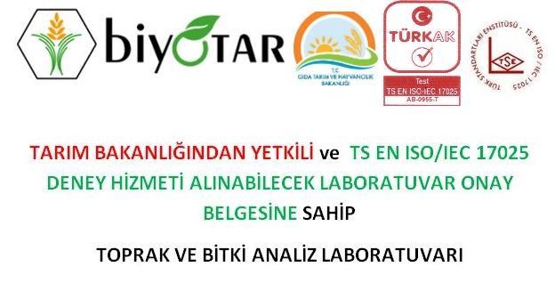 220578-FERTILIZER ANALYSIS (Soil)-Biyolab (Biyotar Organik Tarim A.S.)
