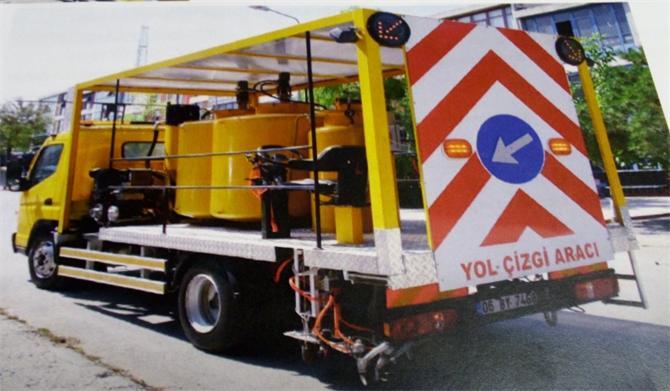 184461-Road Line Truck-Taskin Teknik Makine
