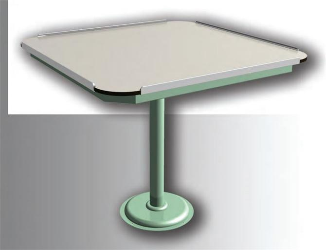 211308-Metal Vessel Furniture - 4 Seater Dining Table-Meg Gemi ve Mak. San. Tic. Ltd.