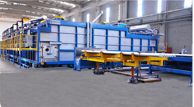 207281-Continuous Type Aluminum Log Homogenization Plant-Sistem Teknik Endustriyel Firinlar