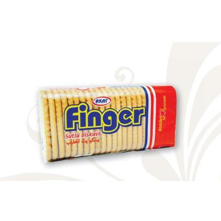 79965-Finger Sütlü Bisküvi-Akay Çikolata Bisküvi Gıda San. Tic. Ltd. Şti.