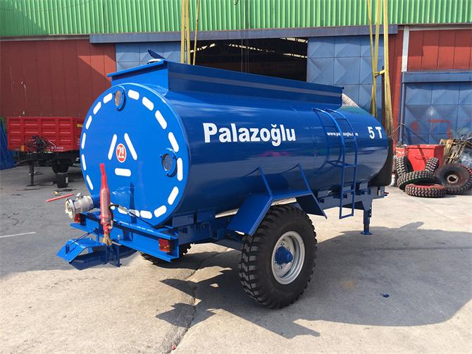 207608-5 Ton Single Axle Liquid Fertilizer Tanker-Palazoglu Tarim Aletleri San. ve Tic. Ltd. Sti.