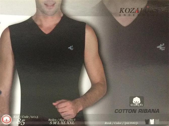 215450-Men's Undershirt-Kozaluks Tekstil San. ve Tic. Ltd. Sti.