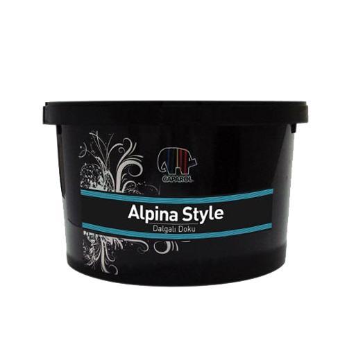 185662-Alpina Style® Wavy Texture Interior Wall Painting-Peker Demir Cimento Ins. Malz. Taah. Tic.  ve San. Ltd. Sti.