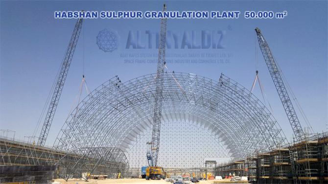 200602-Ruwais and Habshan Sulfur Terminals Space System Constructions-Altinyaldiz International Space Frame Construction Industry and Commerce Joint Stock Co.
