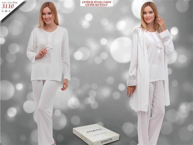 215284-Dowry Pajama Set-Kozaluks Tekstil San. ve Tic. Ltd. Sti.