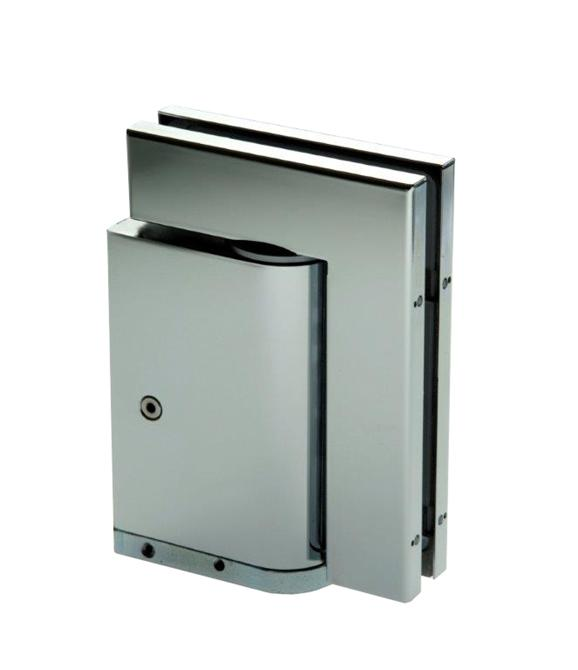 210217-8201 Triloba Hydraulic Hinge-BM Glass Hardware