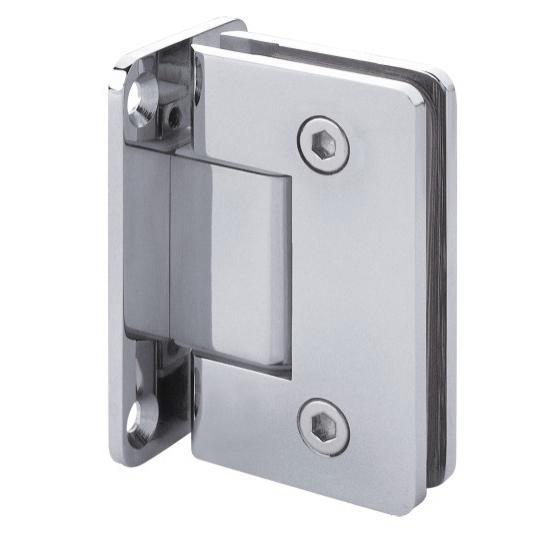 210179-BM-DM601-90-NK Shower Hinge - Satine Nickel-BM Glass Hardware