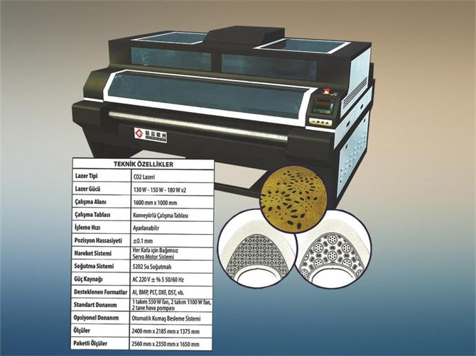 211855-Independent Double Head Laser Cutting Machine-Dekat Makina Sanayi ve Ticaret. Ltd. Sti.