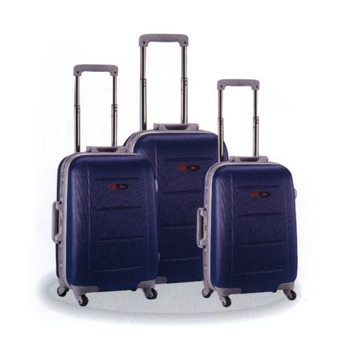 5158-Navy blue suitcase pack abs-Istanbul Canta