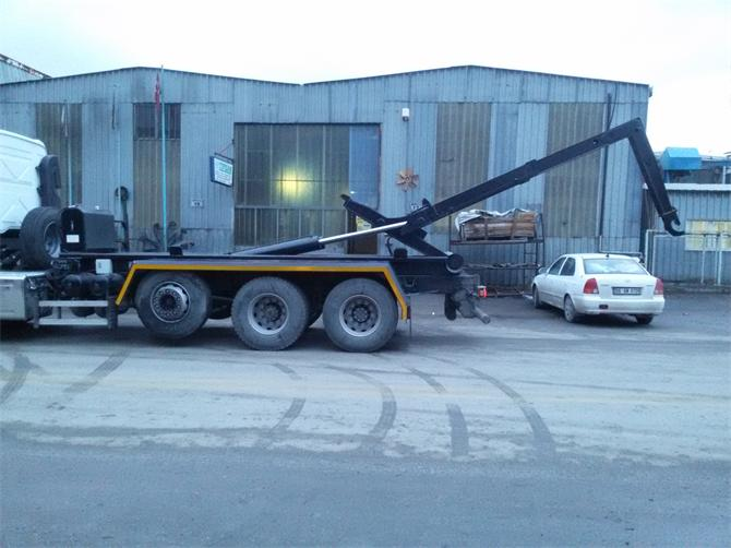 186029-Container Carrier Hook Crane and Open Container-Lider Kepce San. Tic. Ltd. Sti.