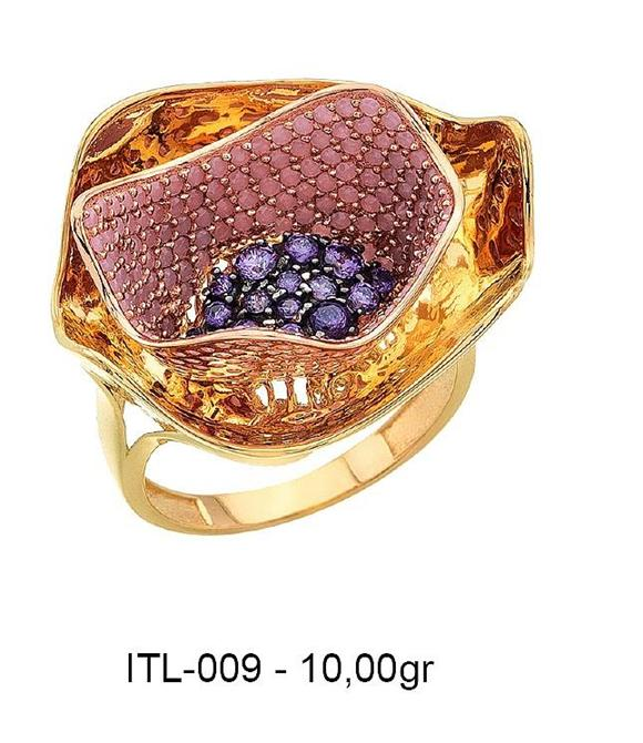 216154-14K gold ring-Rinel Import-Export Co