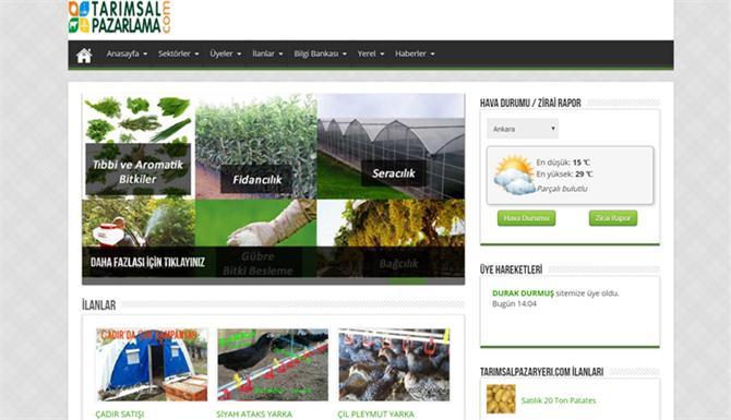 219885-Social E-Commerce Network in Agriculture - TarimsalPazarlama.Com-Tabit Akilli Tarim Teknolojileri A.S.