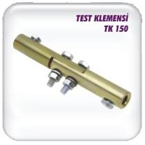 Test terminals 1 * 50 mm2 brass