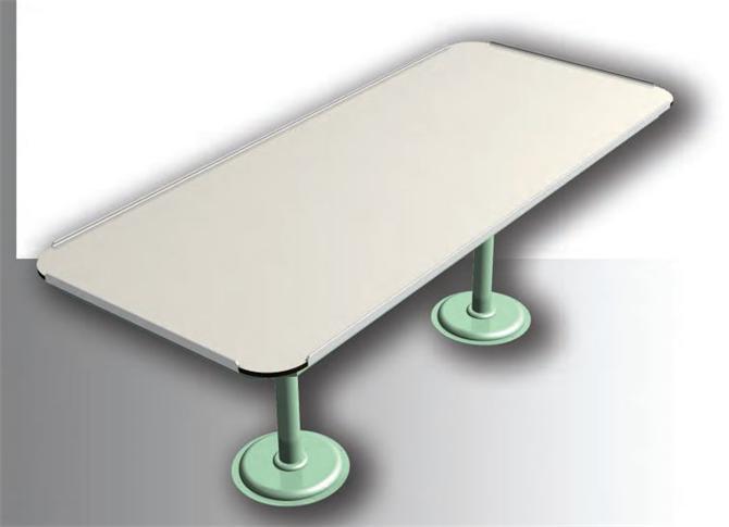 211309-Metal Vessel Furniture - 6 Seater Dining Table-Meg Gemi ve Mak. San. Tic. Ltd.