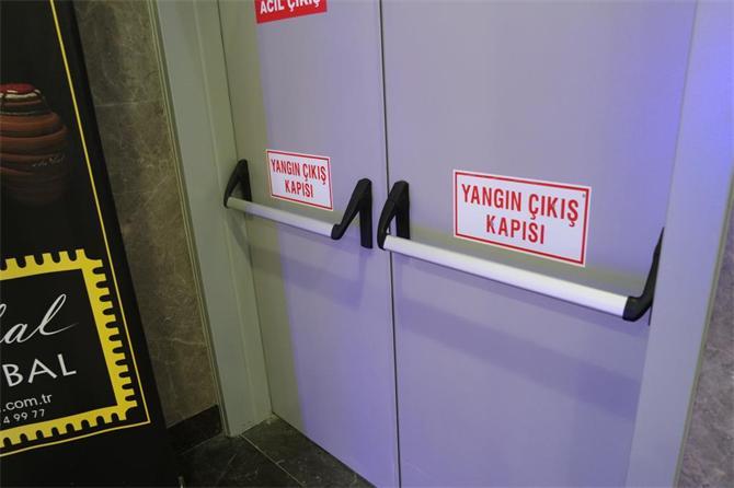 216715-Double Wing Fire Exit Door-MKS Metalic Door Production