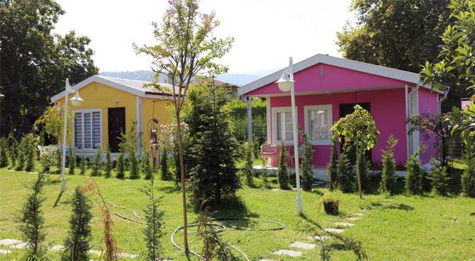 61160-Single Storey Prefabricated Houses-Hebo Yapi San. ve Tic. A.S.
