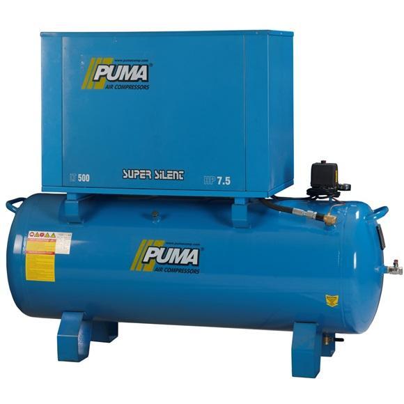 201360-Quiet Aluminum Pump Piston Compressor (PSL500-7,5)-PETMAKSAN Makina Sanayi ve Tic. Ltd.Sti.
