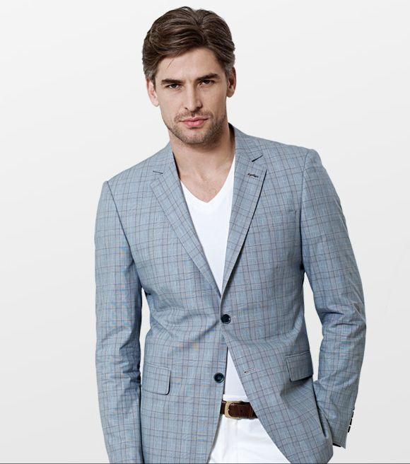 2428c2012194f Gri Kareli Erkek Ceketi - ürününü globalpiyasa.com da satın alın