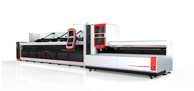 225882-1500w 2500w Fully Automatic Fiber Laser Tube Cutting Machine With Package Loader-Lazer Dünyası