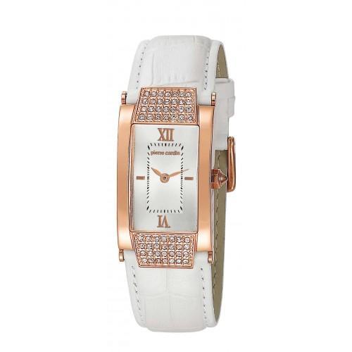10412-Pierre Cardin Beyaz Kayışlı Saat-Aşcı Saatçilik Tic. ve San. Ltd. Şti.