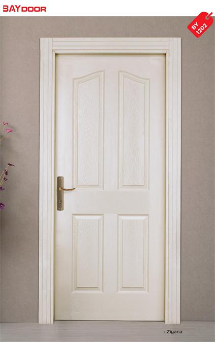 201679-BY 1202 AMERICAN PANEL DOORS WOOD PAINTED INTERIOR DOOR-Baydoor - Motif Decoration - Motif Group - Motif Kitchen Furniture Industry Limited Company