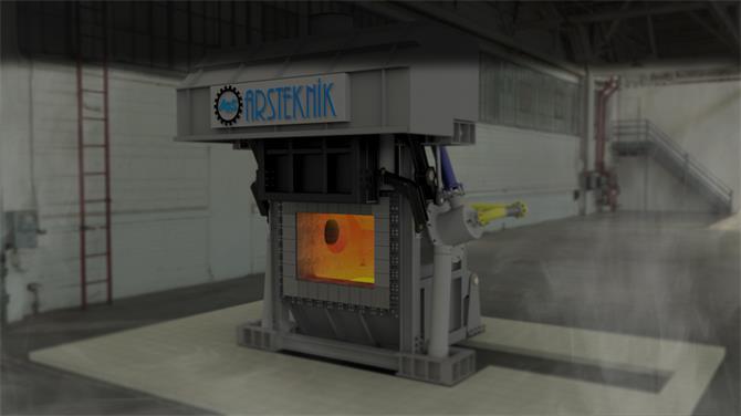 240364-Aluminum Melting / Holding Furnaces-Arsteknik Endustriyel Muhendislik A.S.