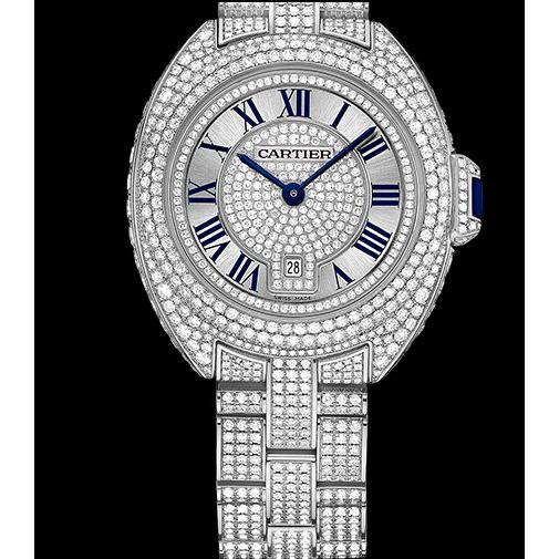 168615-Cartier Taşlı Bayan Saat-Uğur Saat