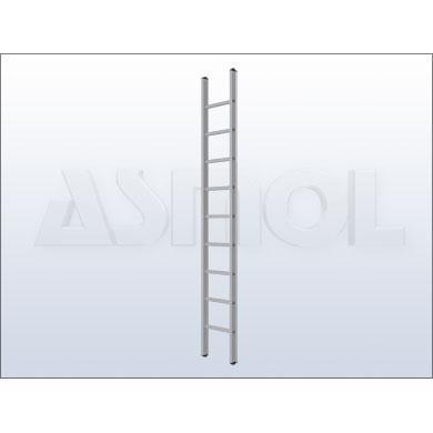 188312-Standard Type Single Ladder-Asmol Merdiven Plastik Aluminyum Reklam Urun. Imal. San. Tic. Ltd. Sti.
